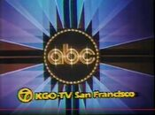 ABC Network ident with KGO-TV San Francisco byline - Fall 1980