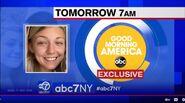 WABC ABC7 - ABC News, Good Morning America - Exclusive - Tomorrow promo for September 20, 2021