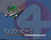 WCCO News, The 10PM News, Special World Series Edition open - Early-Mid October 1991