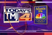 WTMJ-TV's The Station For The 1996 Summer Olympics In Atlanta Video ID For Friday Night, July 19, 1996