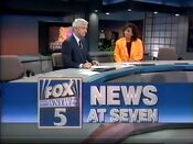 WNYW Fox News 7PM open - August 10, 1990
