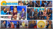 WTNH News 8 Good Morning Connecticut & ABC News' Good Morning America - Good Morning Sunshine - Weekday Mornings promo - Spring 2020