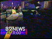 WCBS Channel 2 News 11PM open - September 22, 1992