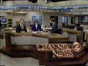 WKRN Channel 2 News 6PM open - November 8, 1988