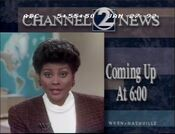 WKRN Channel 2 News 6PM - Coming Up Next promo-id for January 27, 1992