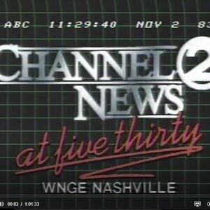 WNGE Channel 2 News 530PM - A Half Hour Earlier Than Anyone Else - Weeknights ident - Fall 1983.jpg