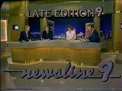 KWTV Newsline 9, Late Edition open - July 18, 1986
