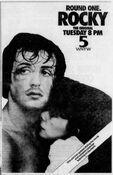 WNYW Fox Channel 5 - Rocky - Tuesday promo for November 4, 1986