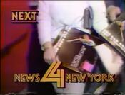 WNBC News 4 New York 11PM - Next promo for November 10, 1986