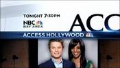 KNTV NBC Bay Area - Access Hollywood - Tonight promo - late January 2012