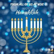 WBZ Channel 4 - Happy Hanukkah ident - December 22, 2019