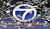 WABC Channel 7 - Season's Greetings ident - Mid-Late December 1989