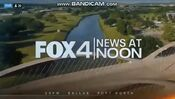 KDFW Fox 4 News 12PM open - The Week Of January 28, 2020