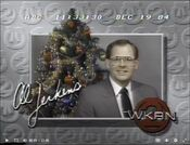 WKRN Channel 2 - Happy Holidays - Al Jerkins ident - Mid-Late December 1984