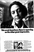 WABC Channel 7 Eyewitness News 6PM & 11PM - Depression, Can You Beat It - Monday-Wednesday promo for October 3-5, 1977
