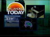 KJRH Newscenter 2 Oklahoma Today open - 1985