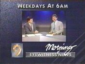 KCRG TV9 Eyewitness News Morning - Weekdays promo - Late July 1989
