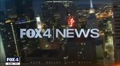 KDFW Fox 4 News 10PM open - The Week Of January 28, 2020