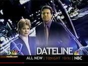 NBC News' Dateline NBC - Today promo with KNTV-TV ID bug - Early January 2002