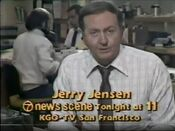 KGO Channel 7 News Scene Tonight Weeknight - Tonight ident for November 12, 1980