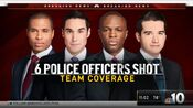 WCAU NBC10 News - 6 Police Officers Shot, Team Coverage open - Mid-Late August 2019