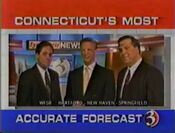 WFSB-TV's Channel 3 Eyewitness News' Channel 3 New England Weather Service, Connecticut's Most Accurate Forecast Video ID From Late 1995