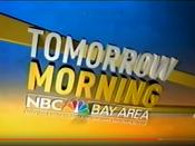 KNTV NBC Bay Area News - Tomorrow Morning promo - Late July 2008