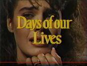 DaysOfOurLives Closing Aug 7 1986