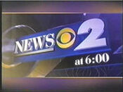 WCBS News 2 6PM open - Mid-Spring 2000