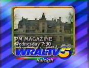 WRAL TV5 - P.M. Magazine - Wednesday ident for December 17, 1986