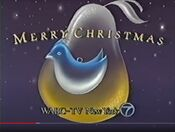 WABC Channel 7 - Merry Christmas ident - Mid-Late December 1991
