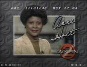 WKRN Channel 2 News 5PM And 10PM - Anne Holt - Weeknight ident - Fall 1984