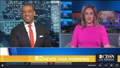 KCBS CBS2 News This Morning 5AM open - January 7, 2021