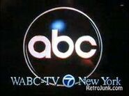 ABC Network ident with WABC-TV New York byline - Fall 1993