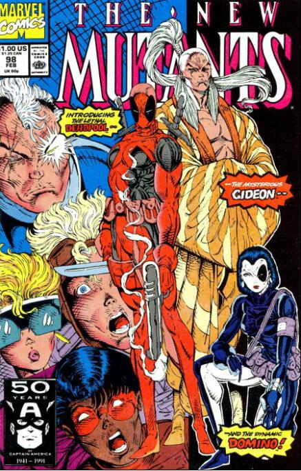 Fictional history of Deadpool