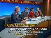 KDKA TV2 Eyewitness News 6PM Saturday close - February 3, 1996