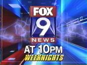 KMSP Fox 9 News 9PM - Weeknights promo - September 2006