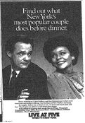 WNBC News 4 Live At 5PM - Weekdays promo for the week of May 19, 1986
