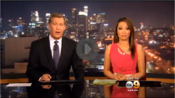 KCAL-TV's+KCAL+9+News+At+10+Video+Open+From+Friday+Night,+June+27,+2014