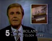 WNEW Channel 5 News, The 10PM News open - September 3, 1985