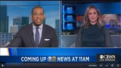 KCBS CBS2 News 11AM - Coming Up bumper - January 12, 2021 - A