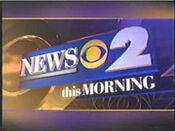 WCBS News 2 This Morning open - Mid-Spring 2000
