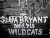 WDTV Channel 3 - Slim Bryant And His Wildcats open - Mid-January 1949