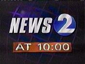 WKRN News 2 10PM open - Mid-August 1996