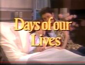 Days Of Our Lives close - March 23, 2000