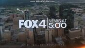 KDFW Fox 4 News 5PM open - The Week Of January 28, 2020