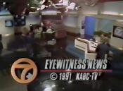 KABC Channel 7 Eyewitness News 5PM close - July 9, 1991