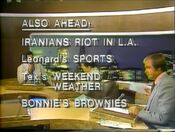WNEW Channel 5 News, The 10PM News - Also Ahead bumper - September 1, 1978