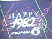 WCIX TV6-33 - Happy 1982 ident from December 31, 1981