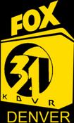 KDVR Fox 31 logo from 1988